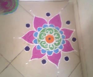 Simple Rangoli