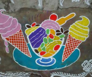 Rangoli: Ice Cream