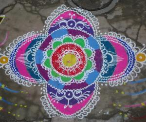 Colour Ful Rangoli