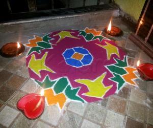 15 Dotted Rangoli