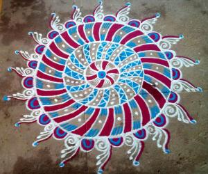 Rangoli , Happy Bogi.