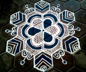 rangoli margazhi Friday special