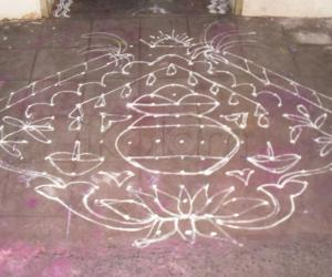 Pongal Kolam - Dotted - Today