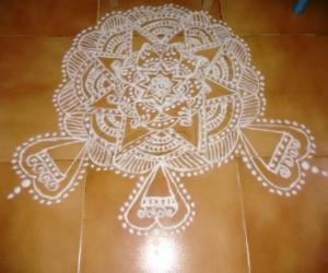 Mandala rangoli