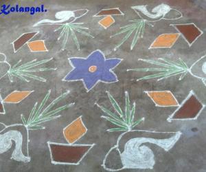 Rangoli: Shell Kolam