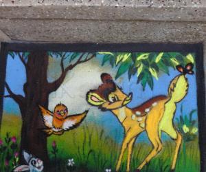 Rangoli: cartoon rangoli
