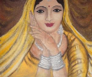 "Rangoli: women""s day"