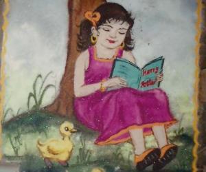 Rangoli: Girl