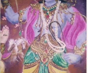 Ram Navami rangoli - Geetha updesh