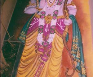 Rangoli: Lord Ram rangoli