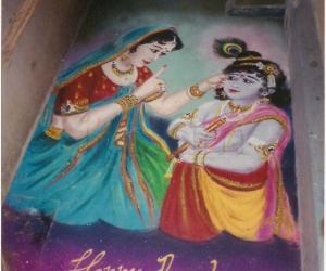 Krishnan caught by his mom Yasodhai