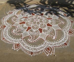 Rangoli: 2012 kolam
