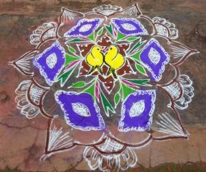 Rangoli: margali rangoli