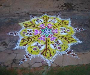 Rangoli: margazhli rangoli.