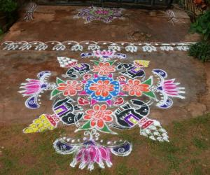 Rangoli: Ganesh chaturthi rangoli