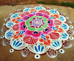 Rangoli: Mothers day special !!