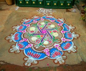 Pongal Rangoli