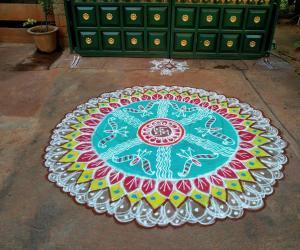 Rangoli: Rama Navami Rangoli