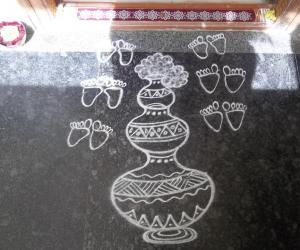 Krishna jayanthi kolam