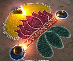 Rangoli: My daily rangoli