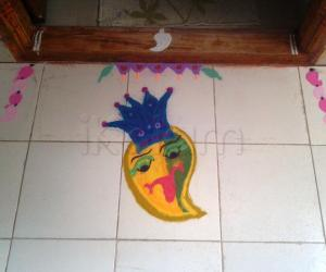 Rangoli: King of the Fruits!!
