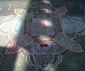 My Diwali Special Rangoli