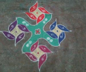 Marhazhi28th day kolam