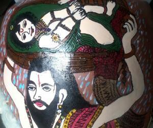 Pot painting Vasudevar