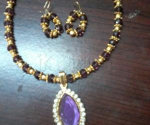 My first trial jewel making