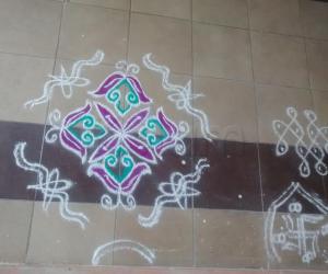 Rangoli: my kolam
