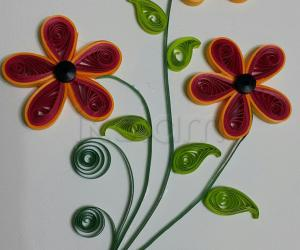 My first quilling card Nov