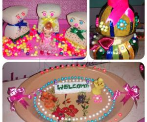 My craft work for neighbour home marriage