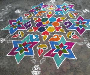 Rangoli: New year 2015