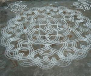 Dedication kolam