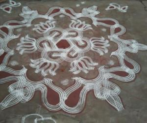 Friday Padi kolam