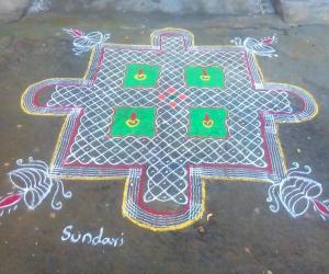 Rangoli: Aadi 18m perukku special