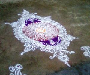 Rangoli: margazhi rangoli 12/01/2015