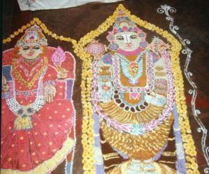Lord Sri Venkatachalapathy &Goddess Sri Padmavathy