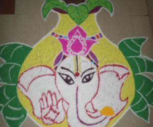 Pillayar in the kalasam