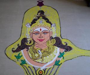 MahaShivarathri Special rangoli