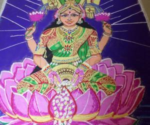 Rangoli: AKSHAYA THRUTHI SPECIAL