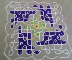 Rangoli: OWN IMAGINATION
