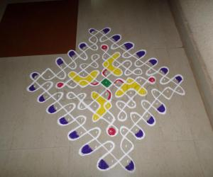 Rangoli: Welcome Chikku