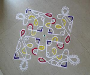 Rangoli: CHIKKU-OWN