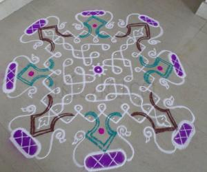 RANGOLI FOR FRIDAY(O.I)