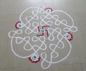 Rangoli: CHIKKU for Tuesday