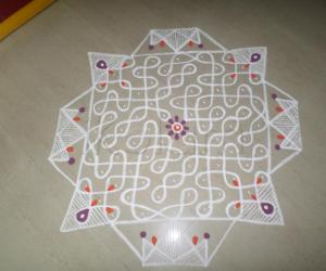 DAY-2 Margazhi  Kolam