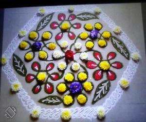 Rangoli: HAPPY UGADHI2017