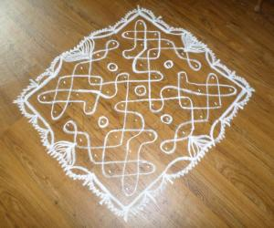 Rangoli: 4th Easy Single Stroke Chikku