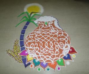 Happy Pongals Rangoli